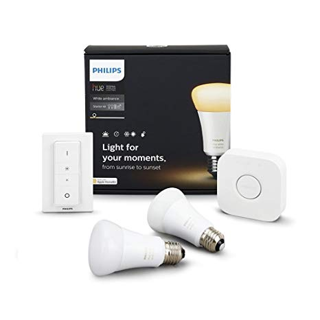 Philips Hue WA 9.5W A60 E27 set SG/HK (2 in a Box) Image
